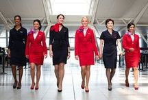 Flight Attendant Costumes and Fashions / Delta is the new black! Our Flight Attendants' costumes and uniforms are just at home on the runway as they are in the sky. Eat your heart out, Fashion Week. #Fashion #Style #FAFashion
