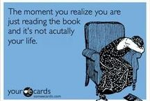 Book Nerd Problems / I write, read, and sniff books...excessively.