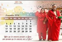 Desktop Calendars / A divine gift for your desktop every month.