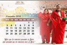 Desktop Calendars / A divine gift for your desktop every month.