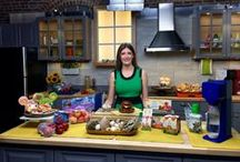 Family Fall Wellness - Healthier Choices / Fall is the perfect time to take advantage of some of the highlights of the season, from incorporating fall fruits and vegetables to kicking your fitness routine up a notch with fall-friendly activities. Toby Amidor, Registered Dietitian is working with these brands to show how families can eat healthier.  She shares her simple tips and ideas for healthier meals, quick snacks and drinks at home and on the go.
