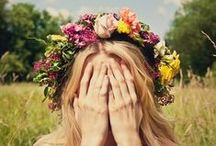 ❁ floral ❁ / love