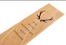 DESIGN | Eco Wood Bookmarks