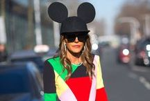 The Cutest fashion week street styles / Fashion Week . Fun . Colour . Unique . Inspiration . Cute .