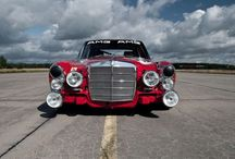 "Mercedes-Benz W115 300 SEL 6.3 AMG ""Roten Säue"" / You are welcome!"