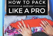 What to pack lists / My favorite lists for packing!