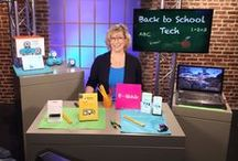 Back to School Tech with Andrea Smith 2015 / With summer vacation winding down, the back to school shopping season is just starting to heat up. Technology is now a must-have purchase to ensure an educational edge…and in order to do that, you need not only the latest technology, but the right technology. Award-winning Tech Expert Andrea Smith partnered with some tech brands that will bring out the best in today's students…from toddlers to college this school year!