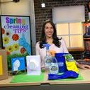 Spring Cleaning Tips with Justine Santaniello / Spring has finally sprung! And it's the perfect time to refresh and renew your home after the winter blues! But it doesn't have to be a daunting task. Lifestyle Expert, Justine Santaniello partnered with the following brands to share some of her favorite product finds and tips to help you better clean and organize this spring.