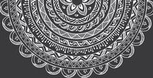Mandala / My favorite mandala-henna designs.