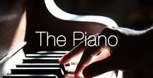 The Piano / A collection of our favourite pianos and piano themed images.