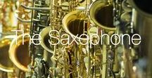 The Saxophone / A collection of our favourite saxophones and saxophone inspired images.