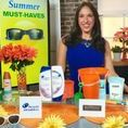 Summer Must-Haves with Justine Santaniello / It's officially summertime…and that means people will be on-the-go, entertaining at home and having fun in the sun!  Lifestyle Expert Justine Santaniello partnered with brands to showcase her summer must-haves to carry you through the season with ease!