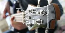 The Bass Guitar / Everything you love about the bass guitar in one Pinterest board.
