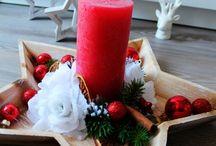 Vánoce - vlastní tvorba / Vánoční dekorace ručně vyráběné. Každý kus je originál.