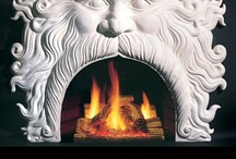 Fireplace & Mantel Designs / by Sandra Schade