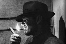 OTHER smokers! / Pariahs all. A dying breed. Ostracized at every turn. Got a light?! / by Mario Puzo