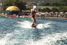 Patmos Activities / Looking for something to do in Patmos Island? Swimming is a must at Groikos beautiful sand beach, Petra and also Lambi, Meloi. Try some watersports, go windsurfing or waterskiing, take a banana ride or a tube ride. http://goo.gl/p1gluR