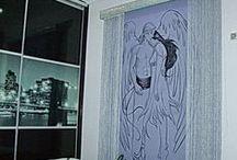 """"""" Κουρτίνα για δωμάτια """" / Ζωντανά χρώματα και σχέδια μεταφορμώνουν τις κρεβατοκάμαρες σας !!!!"""