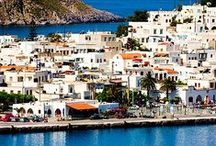 Patmos Astonishing Views / Discover the beautiful island of Patmos and its serene views... http://goo.gl/iea3ES