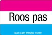 Roos regelt prettiger wonen! / Roos is een samenwerkingsverband van twee woningcorporaties en een zorginstelling.Dankzij een breed en betrouwbaar netwerk van dienstverleners, kan Roos aantrekkelijke prijzen garanderen rond het thema leven. Of het nu het organiseren van verhuizingen, een loodgieter of huishoudelijke hulp is, Roos biedt het allemaal. Eenvoudig en beknopt, net als het nieuwe imago van Roos.