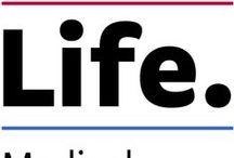 Life. Medical innovations / Life. Medical Innovations biedt innovatieve oplossingen voor bestaande medische O.K. apparatuur in de Business to Business markt. Life zoekt naar vereenvoudigde oplossingen die ze vervolgens door ontwikkelen om bestaande O.K. apparatuur te moderniseren en te voorzien van de nieuwste technieken.