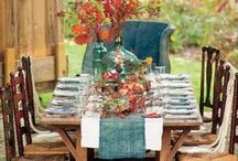 Cozy Dining Rooms / Perfect for this time of year! Fit the whole family in!
