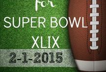 Superbowl Sunday 2015 / Seahawks vs. Patriots.  Who are you cheering for? And what does your party look like?
