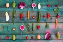 Food - Color palletes