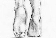 heands + feet drowing