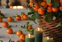 Dessert à l'orange et clémentine