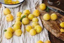 Dessert aux mirabelles,prunes,pruneaux