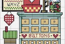 Crafty Ideas / cross stitch, quilting, anything crafts!! / by April Zoller