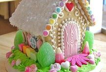 Gingerbread house / by Sherry Houck