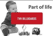 TVH billboards / our billboards along the E17