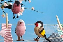 Horgolt madarak