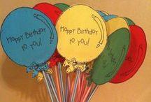 Verjaardag / Leuke ideetjes voor in de klas