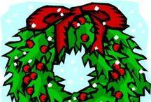 Kleuters Thema: Kerst / Knutsels en andere leuke les-/ ideetjes rondom het thema Kerst