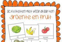 Kleuters Thema: Supermarkt, de / Ideeën voor het thema de supermarkt met onder andere knutsels, les- en kringactiviteiten, kralenplanken, bewegingsactiviteiten en nog veel meer!