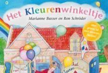 Het Kleurenwinkeltje / Allerlei leuke ideeën rondom het boek Het Kleurenwinkeltje van Marianne Busser en Ron Schröder. Je vind hier onder andere knutselwerkjes, werkbladen en spelletjes rondom de kleuren.