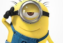 Mini..MINIONS / I love minions and my son told me it's about time I need to have minion board.