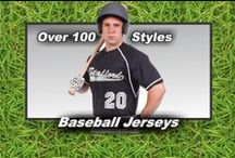 Baseball Jerseys that Stand Out / Jerseys that will make you stand out on the field. If you look good, you feel good and you play good. Jerseys at Graham Sporting Goods. Come Check us out.