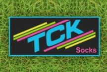 Sport Socks by TCK Comfort & Quality / Socks that not only look good. They stand up and give your feet the comfort they need while your working hard on the field. Sport Socks by TCK