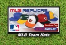 MLB Team Hats / MLB Replica Team Hats. Dress your team like the pros. Hats by OC Sports.