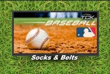 Baseball Socks & Belts by TCK / Baseball Socks, Baseball Belts, Leather Baseball Belts & Baseball Stirrups by TCK at Graham Sporting Goods. We are Here to help email us at ALEX@GrahamSG.com for team sales.