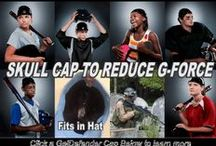 GelDefender Skull Cap / GelDefender Skull Caps are made to fit youth and adult. The Protective cap covers the side of the head above the ears, protecting the temples, the forehead, and the rear and crown of the head. Graham Sporting Goods
