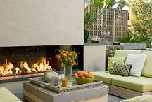 Utepeis outdoor fireplace