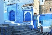 MOR CHEFCHAOUEN / Nestled in the Rif mountains, The Blue Pearl is one of Morocco's most striking towns.