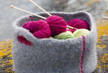 Strikk interiør, dukker ++ (knitting pillows,  dolls ++) / strikking