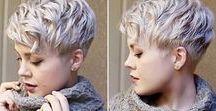 Cabelos / Hair / pixie /  cores e formas