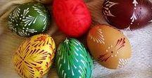 Malérečka / Velikonoce, kraslice, malovaná vajíčka, easter eggs